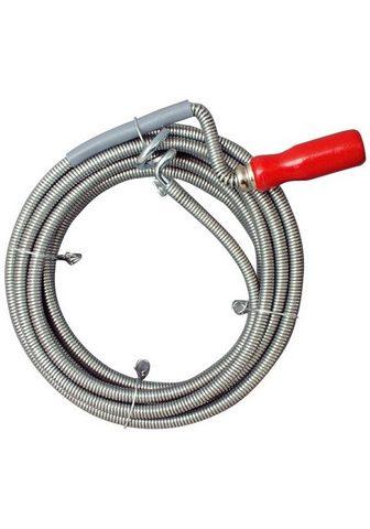 CORNAT Rohrreinigungsspirale ∅ 9 mm 5 m ilgis...