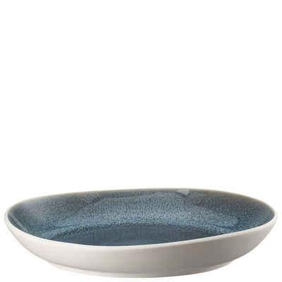 Rosenthal Speiseteller »Junto Aquamarine Teller 33 cm tief«
