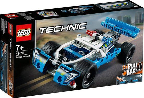 LEGO® Konstruktions-Spielset »LEGO 42091 Technic: Polizei-Verfolgungsjagd«