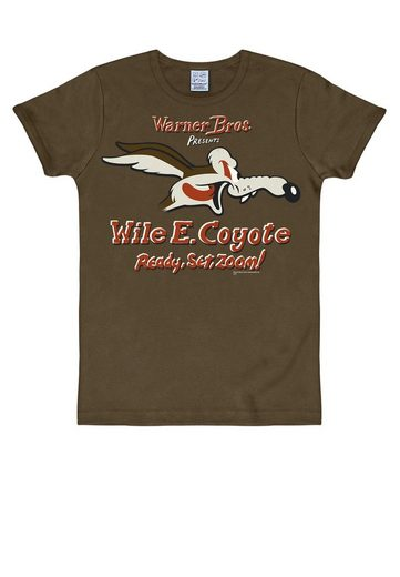 LOGOSHIRT T-Shirt mit Coyote-Print »Coyote Looney Tunes«