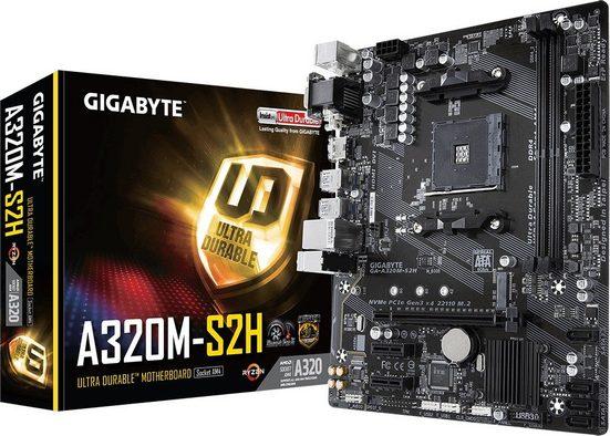 Gigabyte »Gigabyte GA-A320M-S2H (REV 1.1) (AM4) (D)« Mainboard