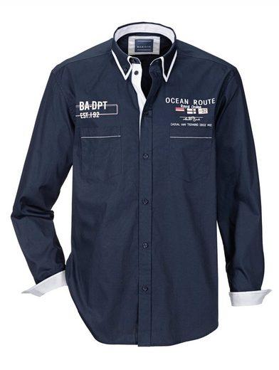 Schlussverkauf Babista Hemd mit Doppelkragen