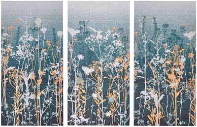 Art for the home Leinwandbild »Wildflower«, Blumenwiese (Set, 3 Stück)