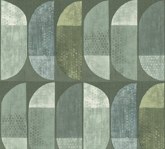 A.S. Création Vliestapete »Geo Nordic«, strukturiert, mehrfarbig, geometrisch