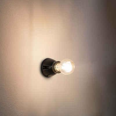click-licht Wandleuchte »Wandleuchte Kera in Schwarz E27«, Wandleuchte, Wandlampe, Wandlicht
