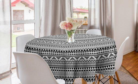 Abakuhaus Tischdecke »Kreis Tischdecke Abdeckung für Esszimmer Küche Dekoration«, Geometrisch Aztec Inspired Shapes