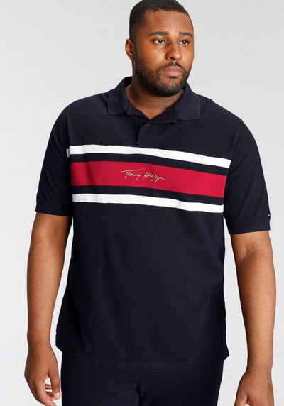 Tommy Hilfiger Big & Tall Poloshirt »BT-GLBL STP SIGNATURE REG POLO«