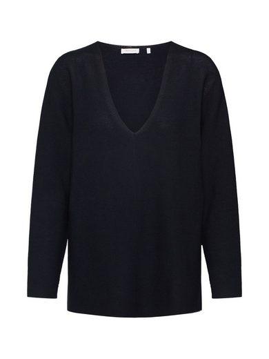 Rich & Royal V-Ausschnitt-Pullover