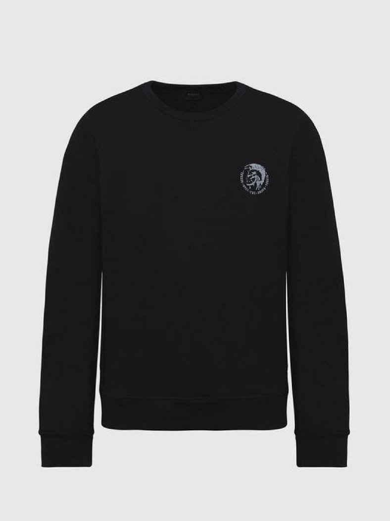 Diesel Sweatshirt »Willy Rundhals Logo«
