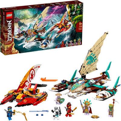 LEGO® Konstruktionsspielsteine »Duell der Katamarane (71748), LEGO® NINJAGO®«, (780 St), Made in Europe