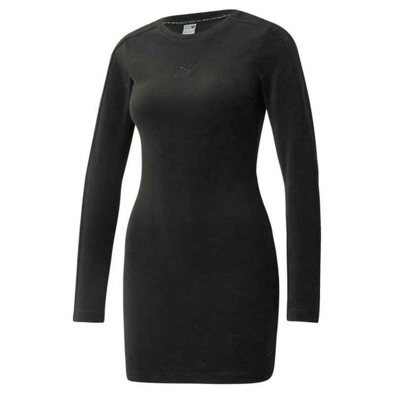 PUMA Sweatkleid »Ikonisches, figurbetontes Velourskleid für Damen«