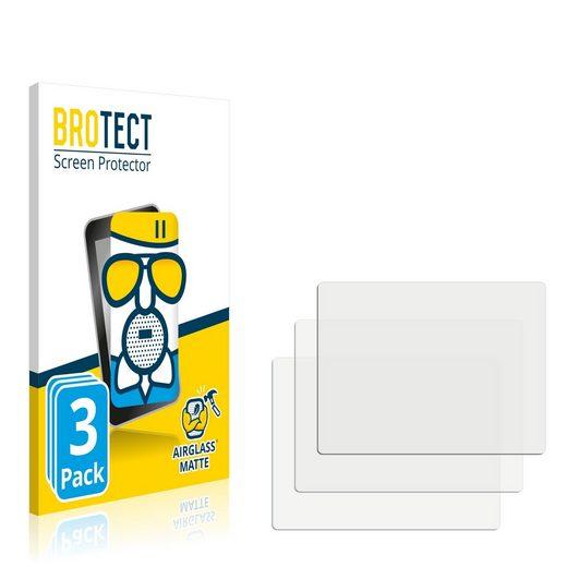 BROTECT Schutzfolie »Panzerglasfolie für Nintendo Gameboy Advance GBA SP«, (3 Stück), Schutzglas Glasfolie matt