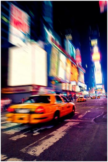 Art & Pleasure Acrylglasbild »Urban traffic«, Urban traffic