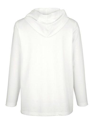 MIAMODA Sweatshirt mit dekorativen Nähten
