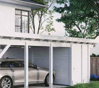Kiehn-Holz Geräteraum, BxT: 585x174 cm, nur für Carport KH 330/311, versch. Farben