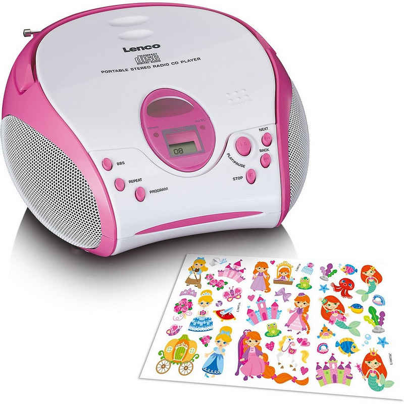 Lenco »SCD-24BU Kids - Boombox CD-Player für Kinder mit« CD-Player