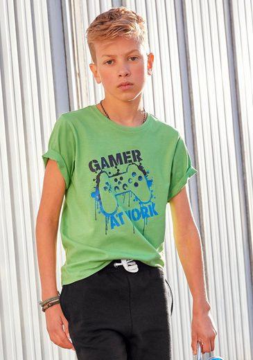 KIDSWORLD T-Shirt »GAMER AT WORK«