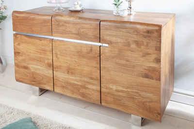 riess-ambiente Sideboard »MAMMUT 135cm honigfarben«, aus Massivholz