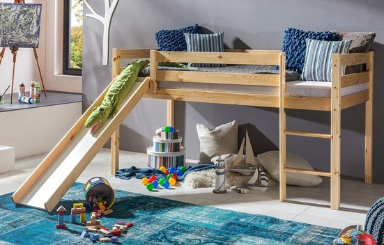 expendio Kinderbett »Kimball«, Kiefer massiv lackiert 90x200 cm