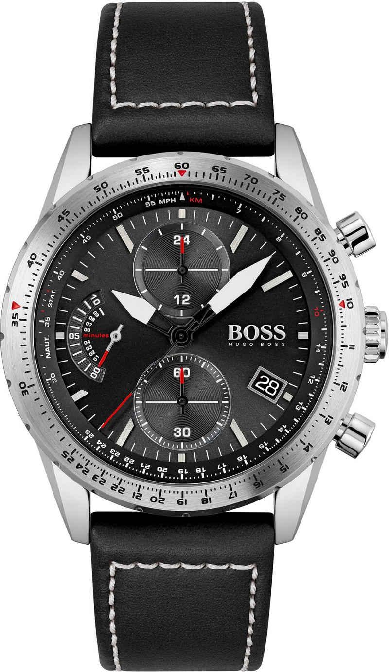 Boss Chronograph »PILOT EDITION CHRONO, 1513853«