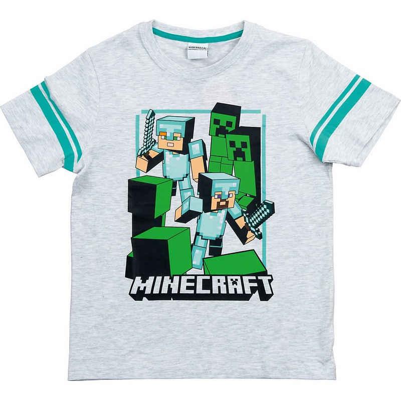 Minecraft T-Shirt »T-Shirt Good Odds gray 152cm«