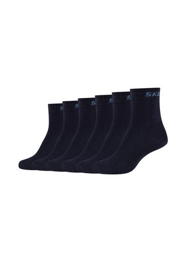 Skechers Socken (6-Paar) mit integrierter Mesh-Ventilation