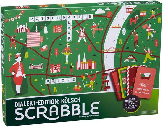 Mattel® Spiel, »Familienspiel - Scrabble Dialekt-Edition: Kölsch«