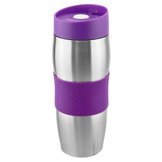 Wellgro Thermobecher »Thermobecher 380 ml - Edelstahl - BPA-frei - Isolierbecher - Kaffeebecher, Thermosflasche, Farbe wählbar«