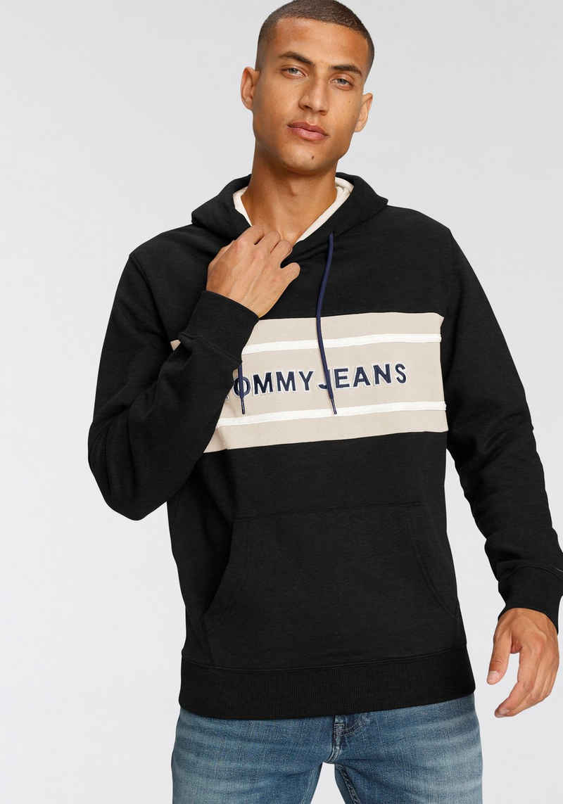 Tommy Jeans Kapuzensweatshirt »TJM PIECED BAND LOGO HOODIE«