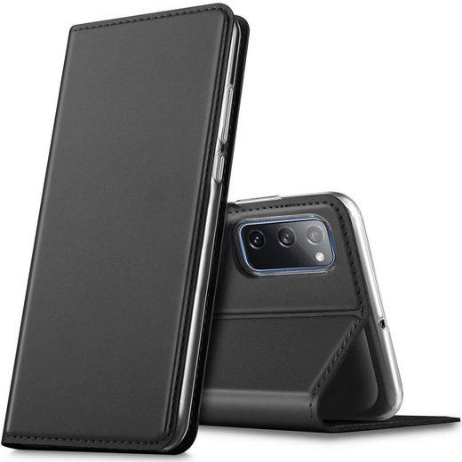 CoolGadget Handyhülle »Magnet Case Handy Tasche« für Samsung Galaxy S20 FE 6,5 Zoll, Hülle Klapphülle Slim Flip Cover für Samsung S20 FE 5G Schutzhülle