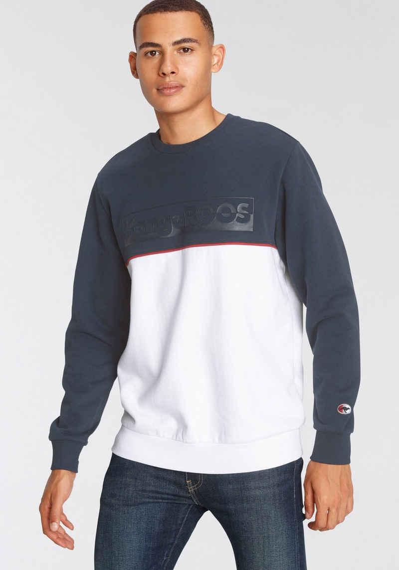 KangaROOS Sweatshirt mit Logoprint