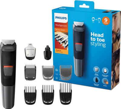 Philips Multifunktionstrimmer Series 5000 MG5720/15, Multigroom, 9-in-1 Trimmer, Gesicht, Körper, Haare