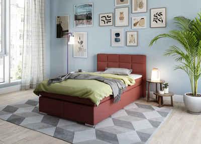 my home Boxbett »Laurin«, Härtegrad 3, mit Topper