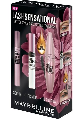 MAYBELLINE NEW YORK Mascara-Set »Lash Sensational« 3 vnt.