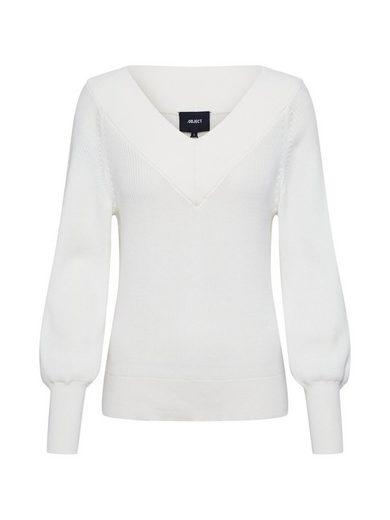 Object V-Ausschnitt-Pullover »MANJA«