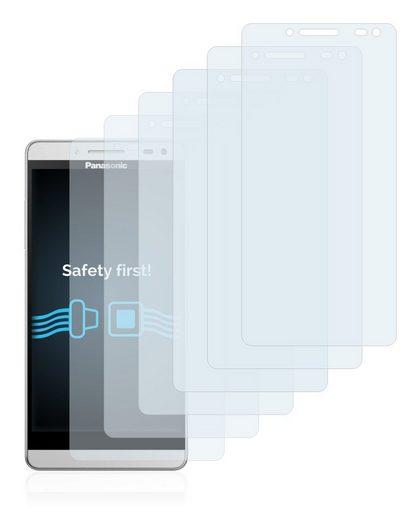 Savvies Schutzfolie »für Panasonic Eluga 12«, (6 Stück), Folie Schutzfolie klar