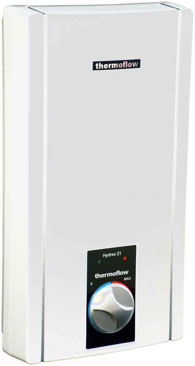 Thermoflow Durchlauferhitzer »Thermoflow Hydrex 18/21/24«, hydraulisch, max 75 °C, mit stufenloser Temperaturregelung
