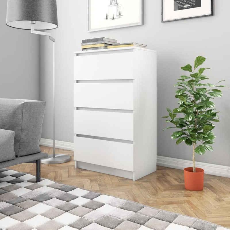 vidaXL Anrichte »vidaXL Sideboard Weiß 60×35×98,5 cm Spanplatte«