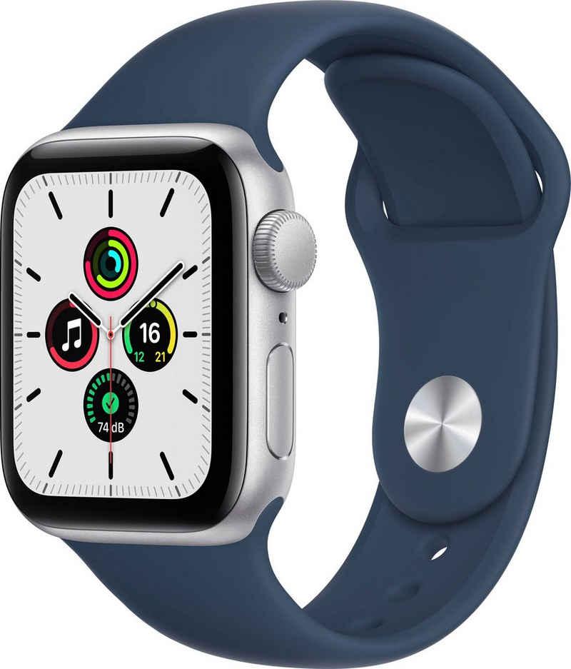Apple Watch SE GPS, 40mm Smartwatch (3,98 cm/1,57 Zoll, Watch OS 7)