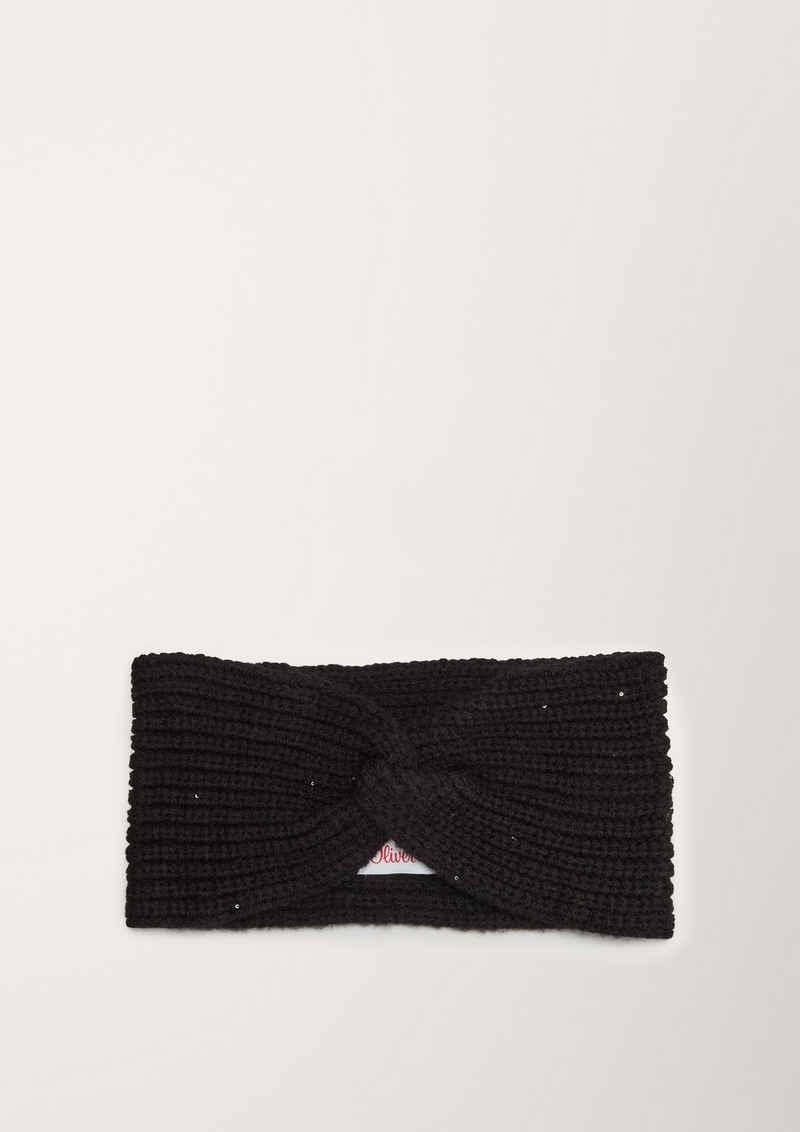 s.Oliver Stirnband »Stirnband aus Wollmix« Pailletten