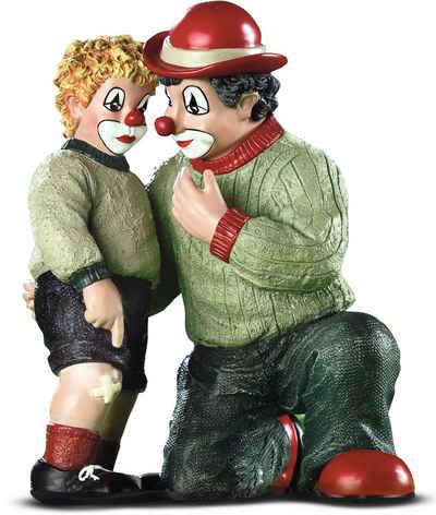 Gildeclowns Sammelfigur »Clown Dekofigur, Das Malheur« (1 Stück), Clown Dekofigur, handbemalt, Wohnzimmer