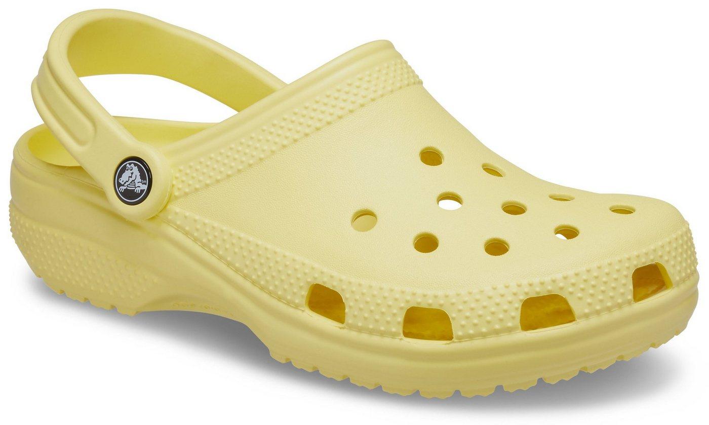 Clogs - Crocs »Classic Clog« Clog mit Fersenriemen › gelb  - Onlineshop OTTO