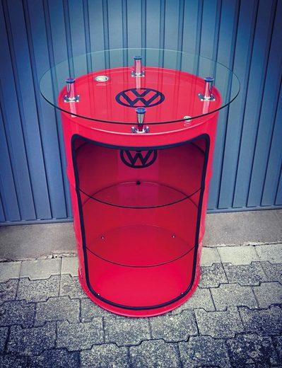 VW Collection by BRISA Stauraumvitrine »VW GTI« Aus neuen originalen 208 Liter Ölfässern