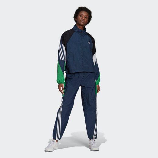 adidas Performance Trainingsanzug »adidas Sportswear Game-Time Woven Trainingsanzug«