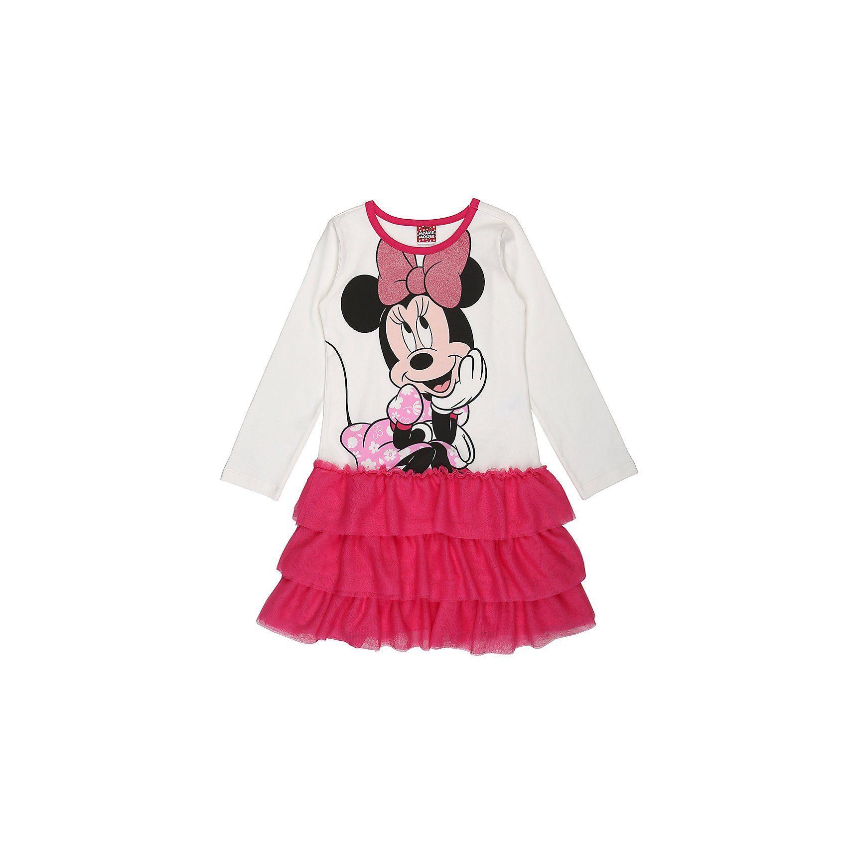 pink Disney Minnie M/ädchen Kleid