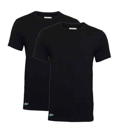 Lacoste T-Shirt »Basic Rundhalsausschnitt« (Packung, 2-tlg., 2er-Pack)