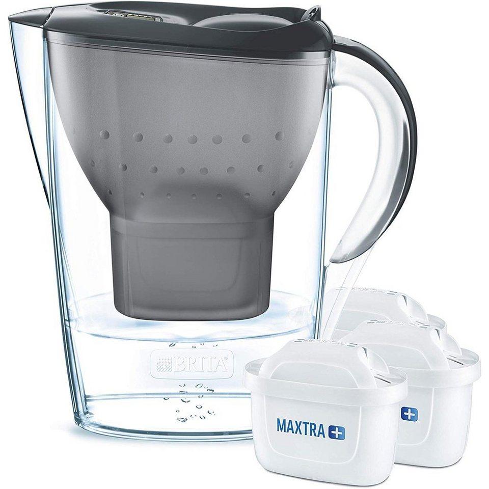 BRITA Wasserfilter Marella inkl. 3 MAXTRA+ graphit   OTTO