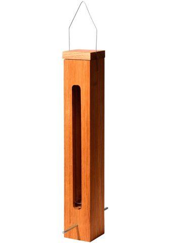 LUXUS-VOGELHAUS Futterspender BxTxH: 7x7x43 cm