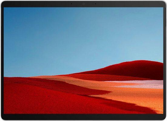 Microsoft Surface Pro X, 256/16GB matt schwarz Convertible Notebook (33,02 cm/13 Zoll, Qualcomm, 256 GB SSD)