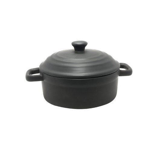 Neuetischkultur Auflaufform »Auflaufform mit Deckel«, Keramik, (2-St)